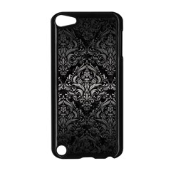 Damask1 Black Marble & Gray Metal 1 Apple Ipod Touch 5 Case (black)
