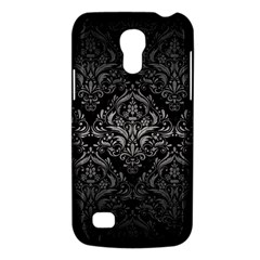 Damask1 Black Marble & Gray Metal 1 Galaxy S4 Mini