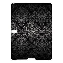 Damask1 Black Marble & Gray Metal 1 Samsung Galaxy Tab S (10 5 ) Hardshell Case