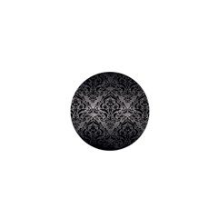 Damask1 Black Marble & Gray Metal 1 (r) 1  Mini Buttons