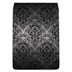 Damask1 Black Marble & Gray Metal 1 (r) Flap Covers (s)