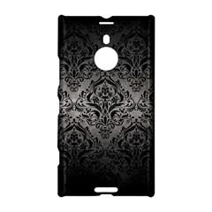 Damask1 Black Marble & Gray Metal 1 (r) Nokia Lumia 1520