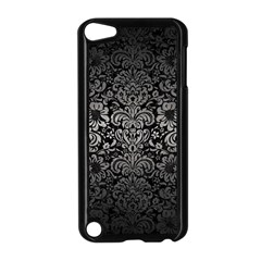 Damask2 Black Marble & Gray Metal 1 Apple Ipod Touch 5 Case (black)