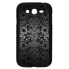Damask2 Black Marble & Gray Metal 1 Samsung Galaxy Grand Duos I9082 Case (black)
