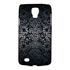 Damask2 Black Marble & Gray Metal 1 Galaxy S4 Active