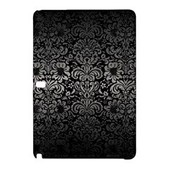 Damask2 Black Marble & Gray Metal 1 Samsung Galaxy Tab Pro 10 1 Hardshell Case