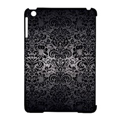 Damask2 Black Marble & Gray Metal 1 (r) Apple Ipad Mini Hardshell Case (compatible With Smart Cover)
