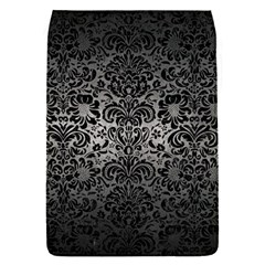 Damask2 Black Marble & Gray Metal 1 (r) Flap Covers (s)