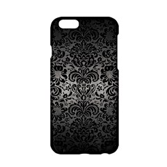 Damask2 Black Marble & Gray Metal 1 (r) Apple Iphone 6/6s Hardshell Case