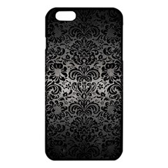 Damask2 Black Marble & Gray Metal 1 (r) Iphone 6 Plus/6s Plus Tpu Case