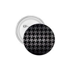 Houndstooth1 Black Marble & Gray Metal 1 1 75  Buttons