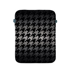 Houndstooth1 Black Marble & Gray Metal 1 Apple Ipad 2/3/4 Protective Soft Cases