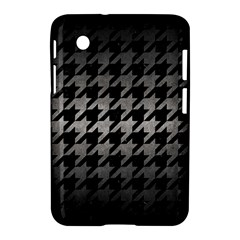Houndstooth1 Black Marble & Gray Metal 1 Samsung Galaxy Tab 2 (7 ) P3100 Hardshell Case