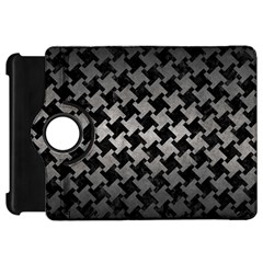 Houndstooth2 Black Marble & Gray Metal 1 Kindle Fire Hd 7