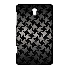 Houndstooth2 Black Marble & Gray Metal 1 Samsung Galaxy Tab S (8 4 ) Hardshell Case