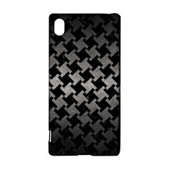 Houndstooth2 Black Marble & Gray Metal 1 Sony Xperia Z3+