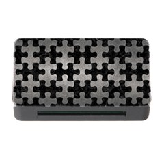Puzzle1 Black Marble & Gray Metal 1 Memory Card Reader With Cf