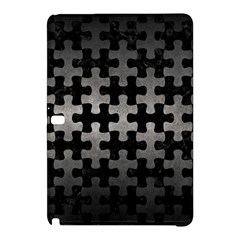 Puzzle1 Black Marble & Gray Metal 1 Samsung Galaxy Tab Pro 12 2 Hardshell Case