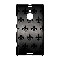 Royal1 Black Marble & Gray Metal 1 Nokia Lumia 1520