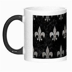 Royal1 Black Marble & Gray Metal 1 (r) Morph Mugs