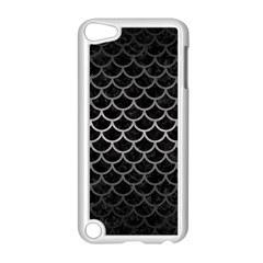 Scales1 Black Marble & Gray Metal 1 Apple Ipod Touch 5 Case (white)