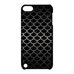 Scales1 Black Marble & Gray Metal 1 Apple Ipod Touch 5 Hardshell Case With Stand