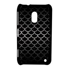 Scales1 Black Marble & Gray Metal 1 Nokia Lumia 620