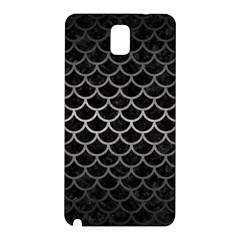 Scales1 Black Marble & Gray Metal 1 Samsung Galaxy Note 3 N9005 Hardshell Back Case