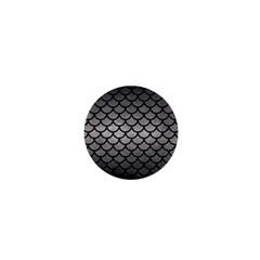 Scales1 Black Marble & Gray Metal 1 (r) 1  Mini Magnets