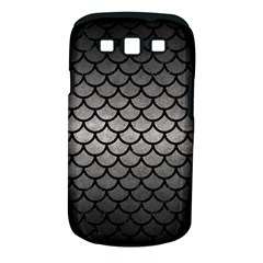 Scales1 Black Marble & Gray Metal 1 (r) Samsung Galaxy S Iii Classic Hardshell Case (pc+silicone)