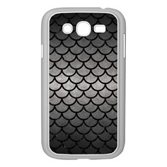 Scales1 Black Marble & Gray Metal 1 (r) Samsung Galaxy Grand Duos I9082 Case (white)