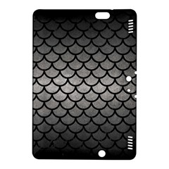 Scales1 Black Marble & Gray Metal 1 (r) Kindle Fire Hdx 8 9  Hardshell Case