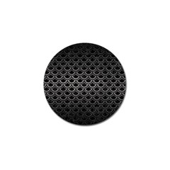 Scales2 Black Marble & Gray Metal 1 Golf Ball Marker (10 Pack)