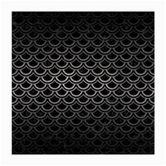 Scales2 Black Marble & Gray Metal 1 Medium Glasses Cloth (2 Side)