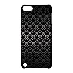 Scales2 Black Marble & Gray Metal 1 Apple Ipod Touch 5 Hardshell Case With Stand