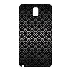 Scales2 Black Marble & Gray Metal 1 Samsung Galaxy Note 3 N9005 Hardshell Back Case