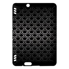 Scales2 Black Marble & Gray Metal 1 Kindle Fire Hdx Hardshell Case
