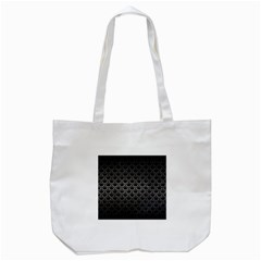 Scales2 Black Marble & Gray Metal 1 Tote Bag (white)