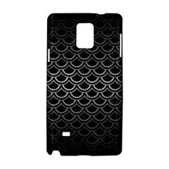 Scales2 Black Marble & Gray Metal 1 Samsung Galaxy Note 4 Hardshell Case