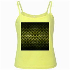 Scales2 Black Marble & Gray Metal 1 (r) Yellow Spaghetti Tank