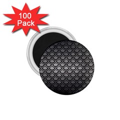 Scales2 Black Marble & Gray Metal 1 (r) 1 75  Magnets (100 Pack)