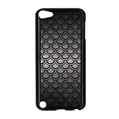 Scales2 Black Marble & Gray Metal 1 (r) Apple Ipod Touch 5 Case (black)