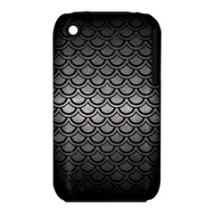 Scales2 Black Marble & Gray Metal 1 (r) Iphone 3s/3gs