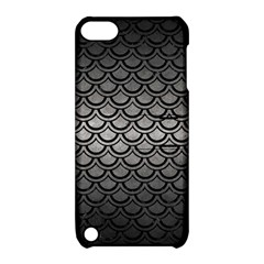 Scales2 Black Marble & Gray Metal 1 (r) Apple Ipod Touch 5 Hardshell Case With Stand