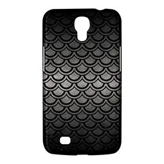 Scales2 Black Marble & Gray Metal 1 (r) Samsung Galaxy Mega 6 3  I9200 Hardshell Case