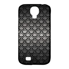 Scales2 Black Marble & Gray Metal 1 (r) Samsung Galaxy S4 Classic Hardshell Case (pc+silicone)