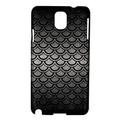 Scales2 Black Marble & Gray Metal 1 (r) Samsung Galaxy Note 3 N9005 Hardshell Case