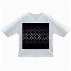 Scales3 Black Marble & Gray Metal 1 Infant/toddler T Shirts