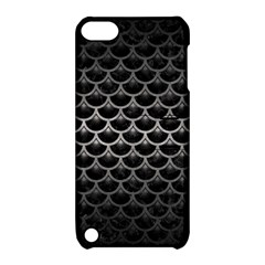 Scales3 Black Marble & Gray Metal 1 Apple Ipod Touch 5 Hardshell Case With Stand