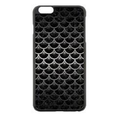 Scales3 Black Marble & Gray Metal 1 Apple Iphone 6 Plus/6s Plus Black Enamel Case